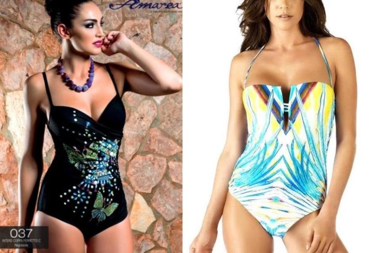 Costumi Da Bagno Bianchi 2014 : Costumi da bagno per slim e curvy polis magazine