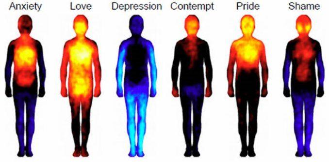 d00a74b18b46 Conoscete la mappa corporea delle vostre emozioni  - Polis Magazine