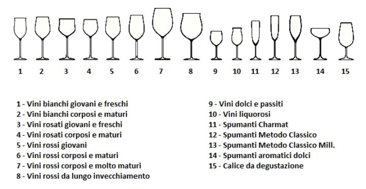 Ad ogni vino il suo bicchiere polis magazine for Bicchieri tulipano